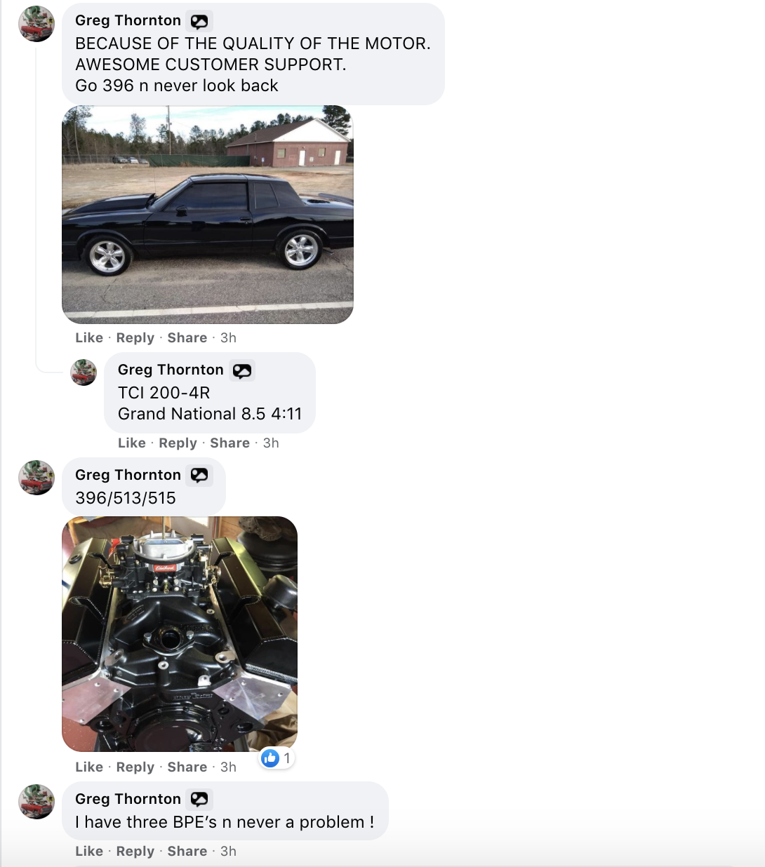 396 customer review